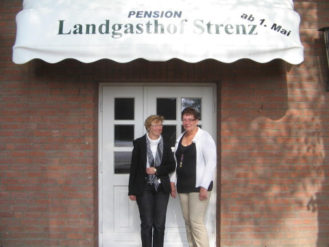 Landgasthof, Eingang, Pension